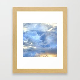 solo flight Framed Art Print