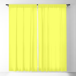 Australian Outback Bright Yellow Sunset Blackout Curtain