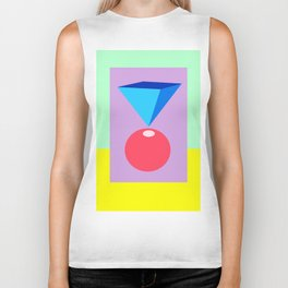 Colorful abstract. Biker Tank