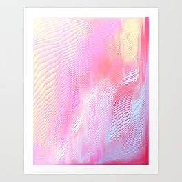 Lately Art Print