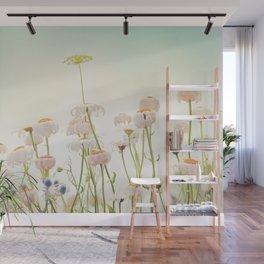 Wildflowers Wall Mural