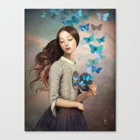 christian Canvas Prints featuring Set Your Heart Free by Christian Schloe