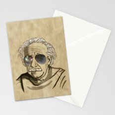 Albert's Sunglasses II Stationery Cards
