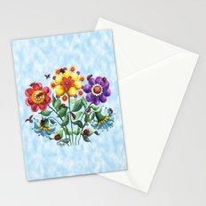 Ladybug Playground on a Summer Day Stationery Cards