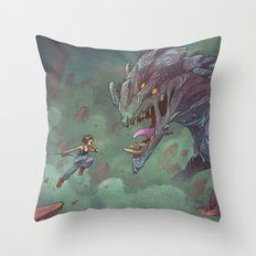 Mako Mori Throw Pillow
