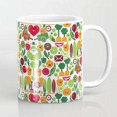Vegetables tile pattern Mug