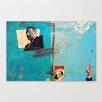 greek Canvas Prints featuring Greek by Alec Goss
