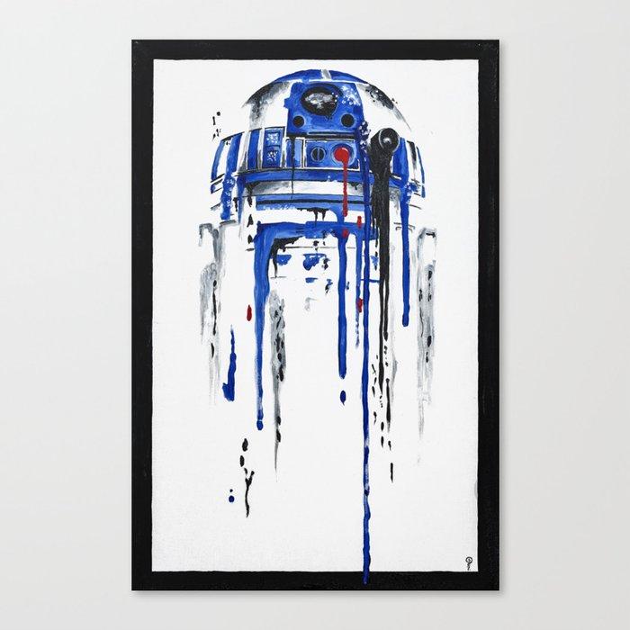 A blue hope 2 Canvas Print