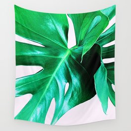 Cheese Plant Leaves Wall Tapestry