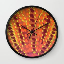 Fire and Flames Wall Clock