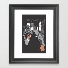 The Gangster Framed Art Print