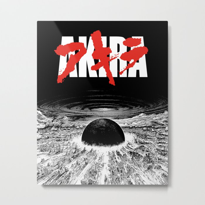 AKIRA - Neo Tokyo Is About To Explode Metal Print
