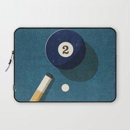 BILLIARDS / Ball 2 Laptop Sleeve