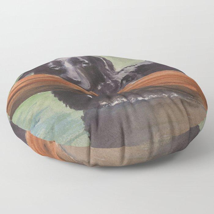 Misty River Floor Pillow