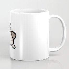 Cute Sleeping Dog Kawaii Style Coffee Mug