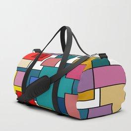 Color Blocks #6 Duffle Bag