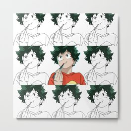 Deku Sticks 2 Metal Print