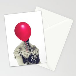 Air pressure in her head Stationery Cards