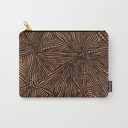 Rustic Triangles Carry-All Pouch