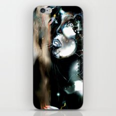 Art Robot Illustration iPhone & iPod Skin