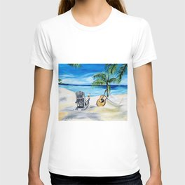 Beach Time with Martin T-shirt