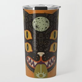 Spooky Cat Travel Mug