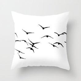 Birds 1 Throw Pillow