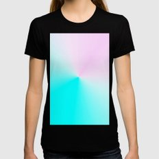 Re-Created  Pt. TEN by Robert S. Lee SMALL Black Womens Fitted Tee