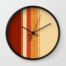 Homey butter toast 2 Wall Clock
