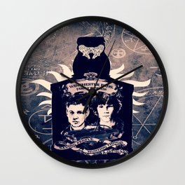 Supernatural In A Bottle Wall Clock