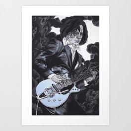 Jack White III Art Print