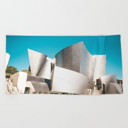 Music Hall Beach Towel