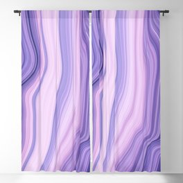 Marble ultra violet Blackout Curtain