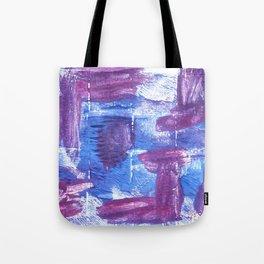 Royal purple abstract watercolor Tote Bag