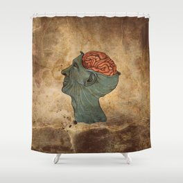 Mind Wide Open Shower Curtain