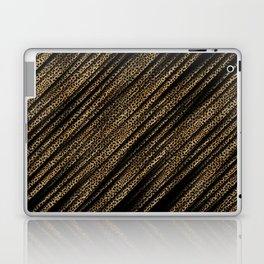 Black Leopard/Cheetah Print Laptop & iPad Skin