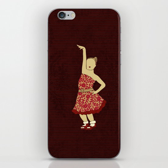 Children dancing 2 iPhone & iPod Skin