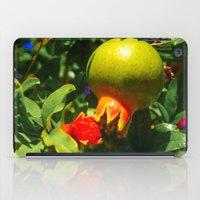 pomegranate iPad Cases featuring Pomegranate by Ricarda Balistreri