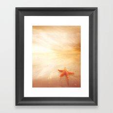 Delightful Sunset Framed Art Print