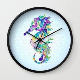 Mr. hippocampus is the man 海馬先生 - 一家之主 Wall Clock
