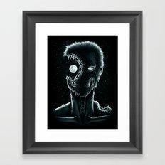 Eye of the Living Dead Framed Art Print