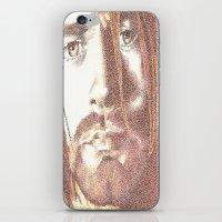 kurt rahn iPhone & iPod Skins featuring Kurt by Nightrav3n