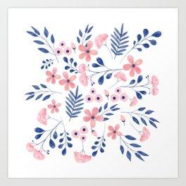flowers / 73 Art Print