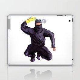 Bathroom Ninja Laptop & iPad Skin