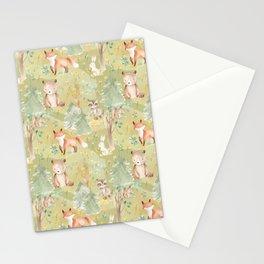 Woodland Nursery - Woodland Friends Stationery Cards