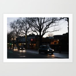 Holland Park, London Art Print