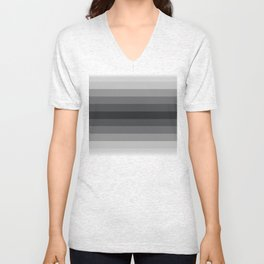 Grey Gradient Unisex V-Neck