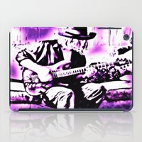 rock and roll iPad Cases featuring Rock N' Roll Gypsy by Jussi Lovewell