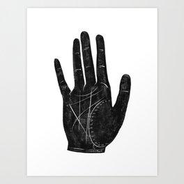 Fortune Teller Palm Art Print