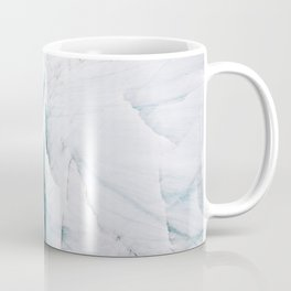 Minimalist Glacial Structures in Iceland – Landscape Photography Coffee Mug